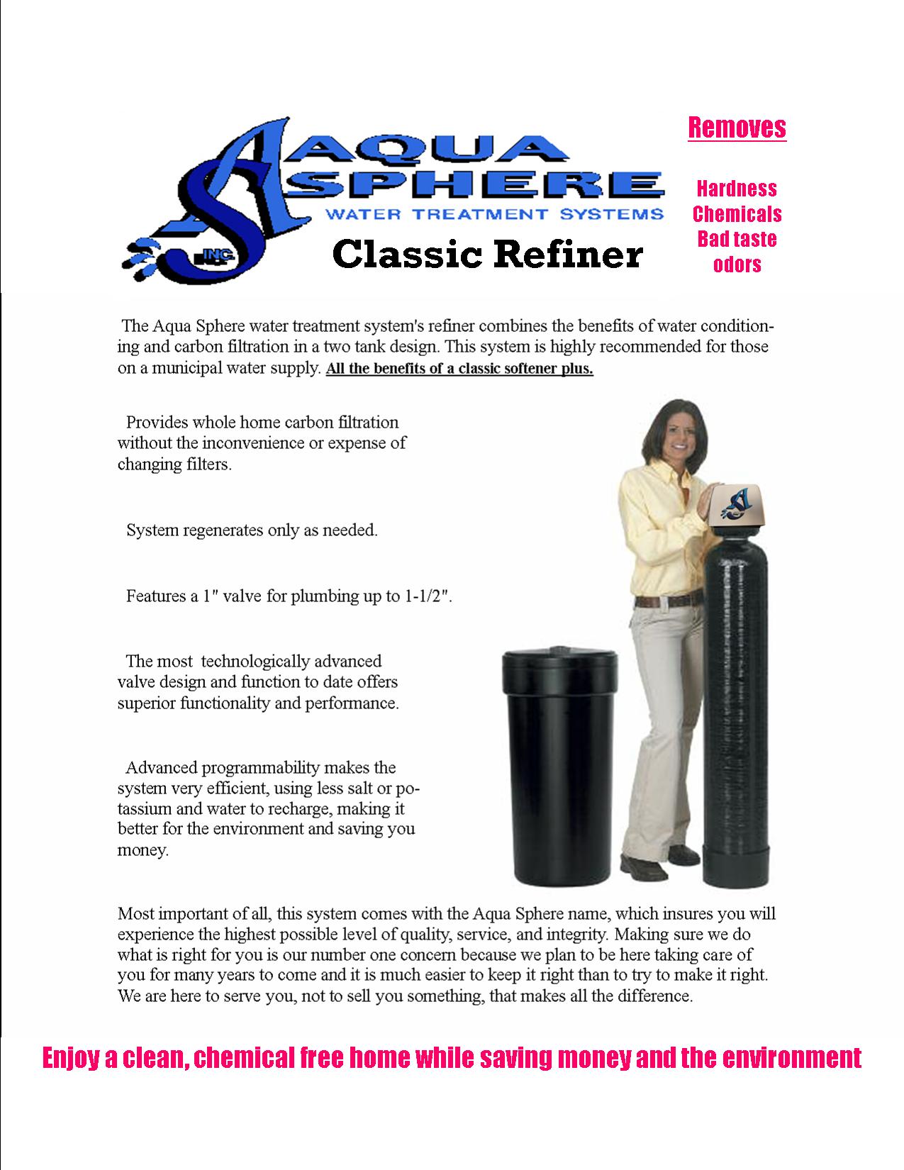 Classic Refiner Ad Sheet