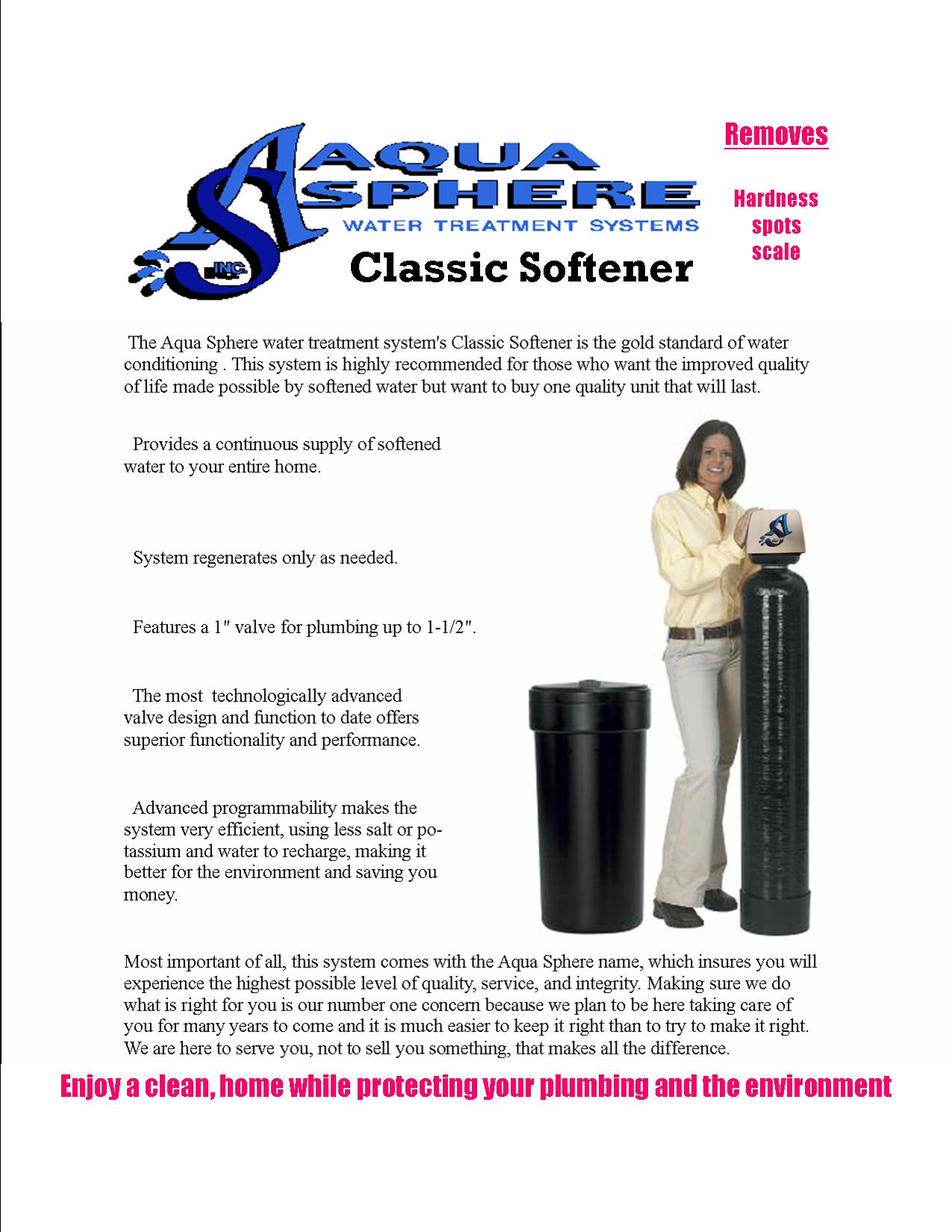 Classic Softener Ad Sheet