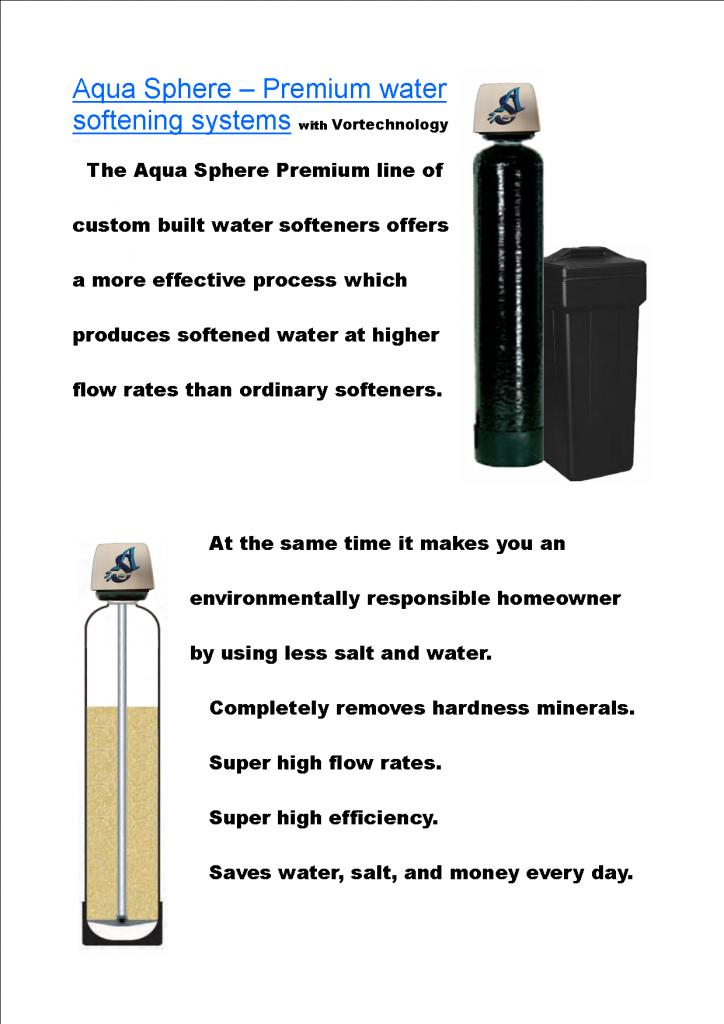 ASI Premium Softener ad sheet